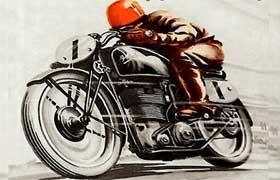rever de moto.